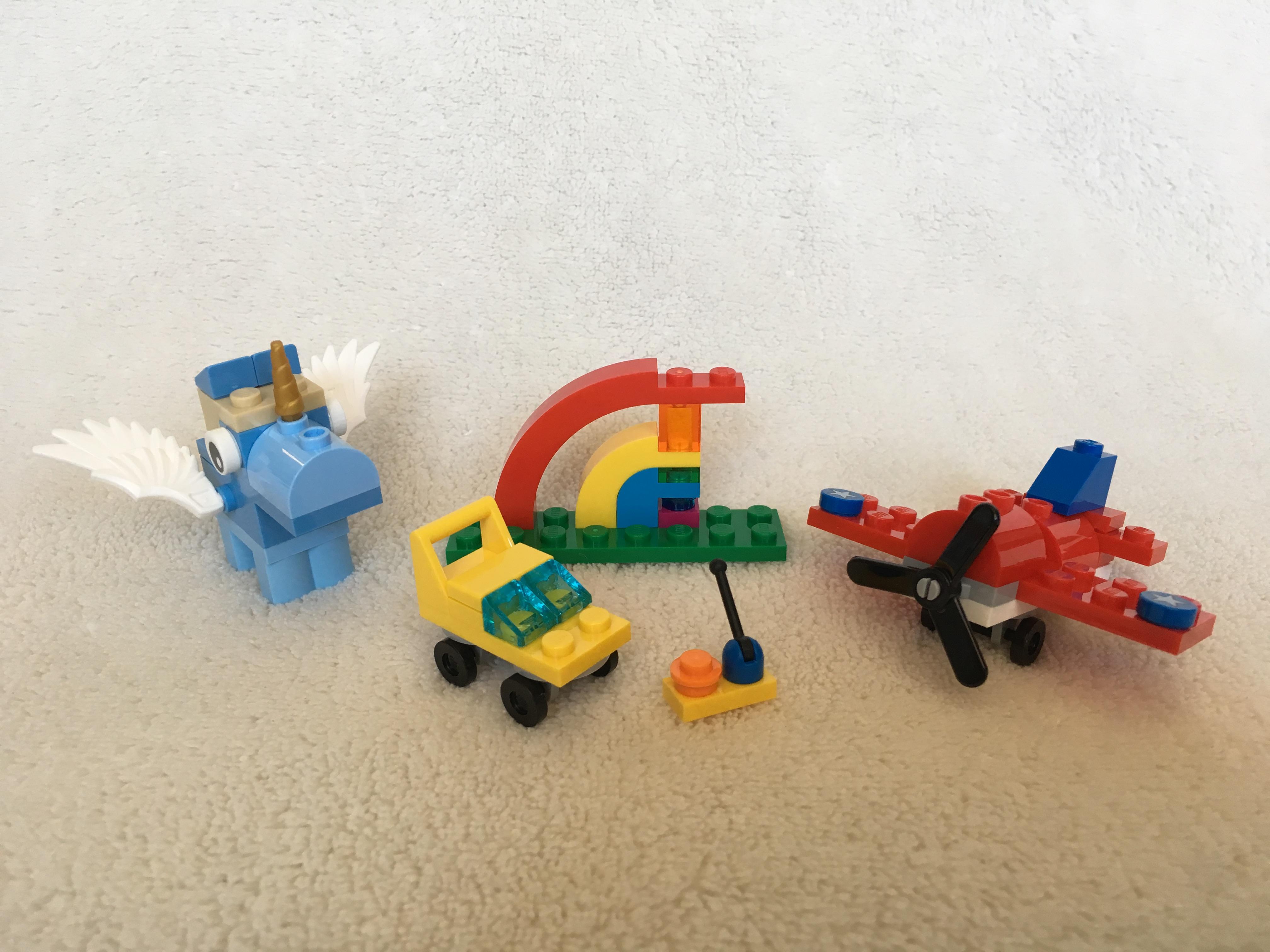 Lego 10401 Rainbow Fun Brick Geek